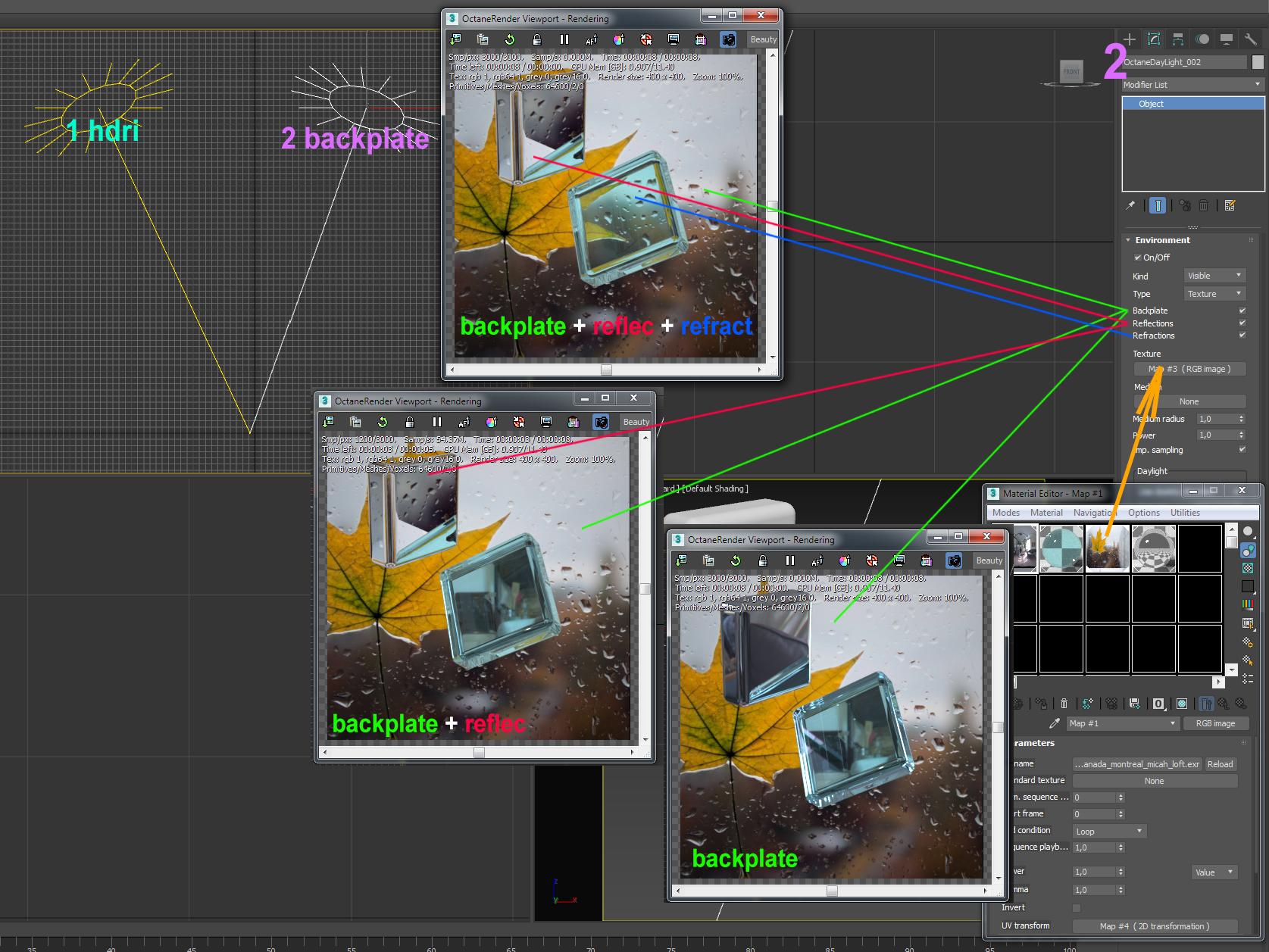 Getting Started with Octane for 3ds max – Help | OTOY